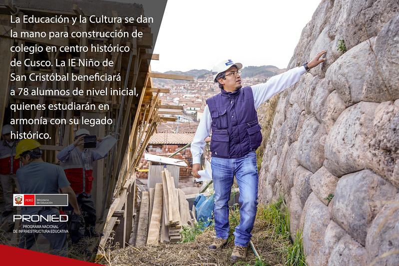 IEI Niño de San Cristóbal de Cusco: Educación y Cultura de la mano