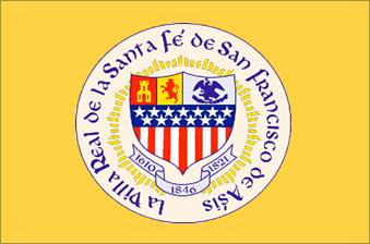 Flag of Santa Fe, New Mexico