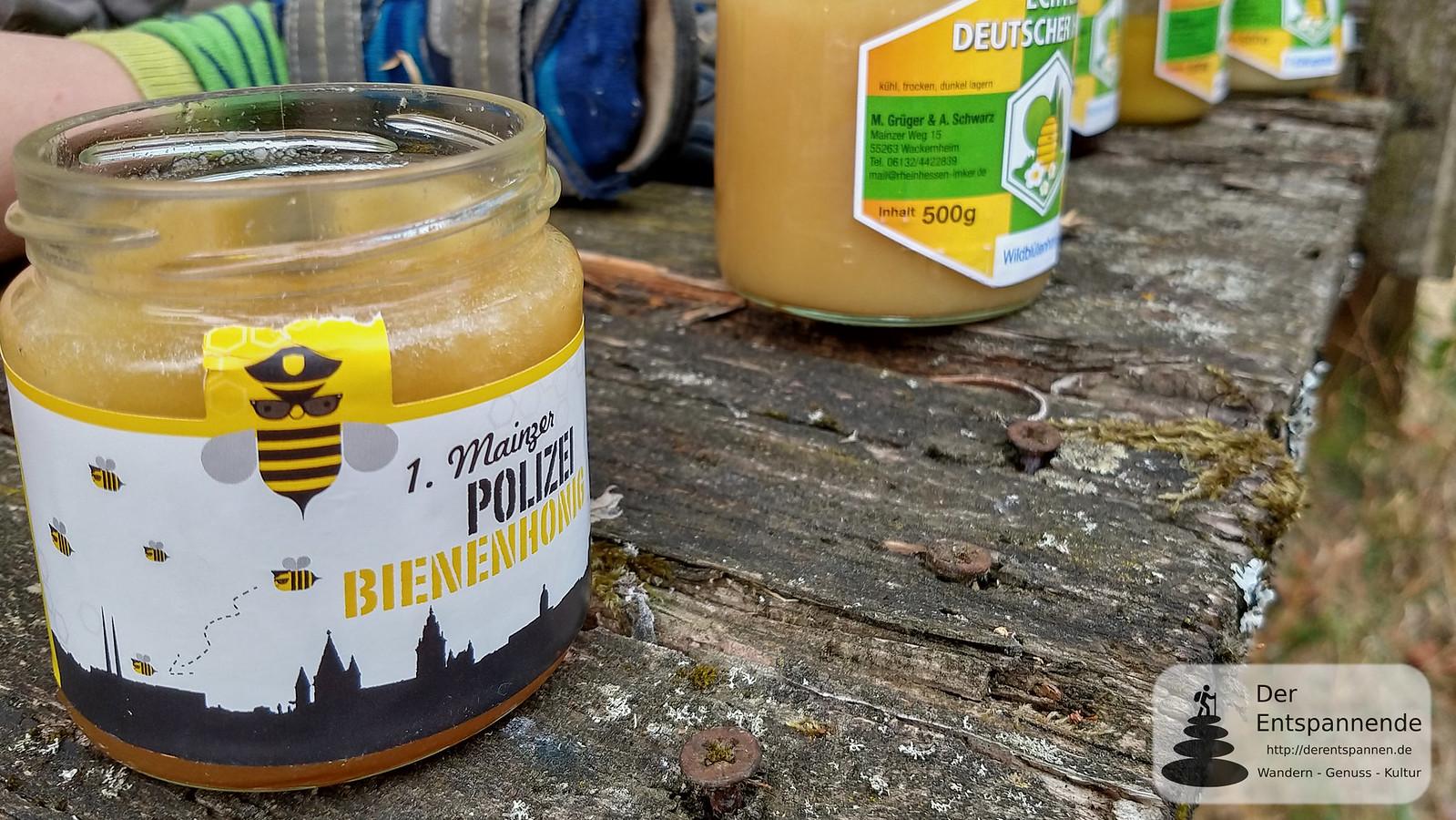 1. Mainzer Polizei-Bienenhonig