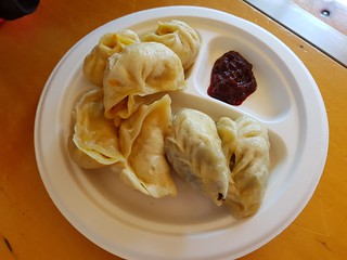 Momos at Brisbane Vegan Markets