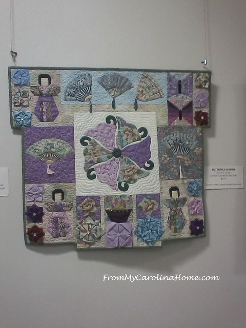 Arboretum Fiber Show at From My Carolina Home