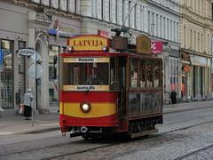 Retro-tram.Riga