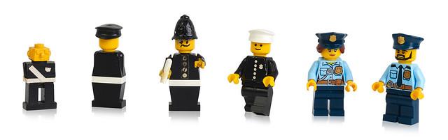 Police LEGO minifigure