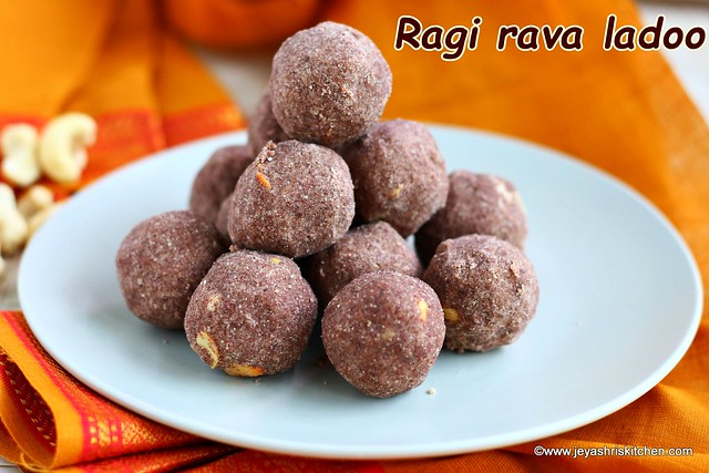 Rava Laddu Jeyashri S Kitchen
