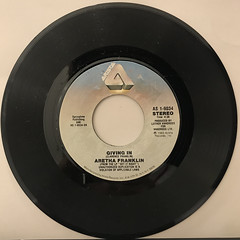ARETHA FRANKLIN:GET IT RIGHT(RECORD SIDE-B)