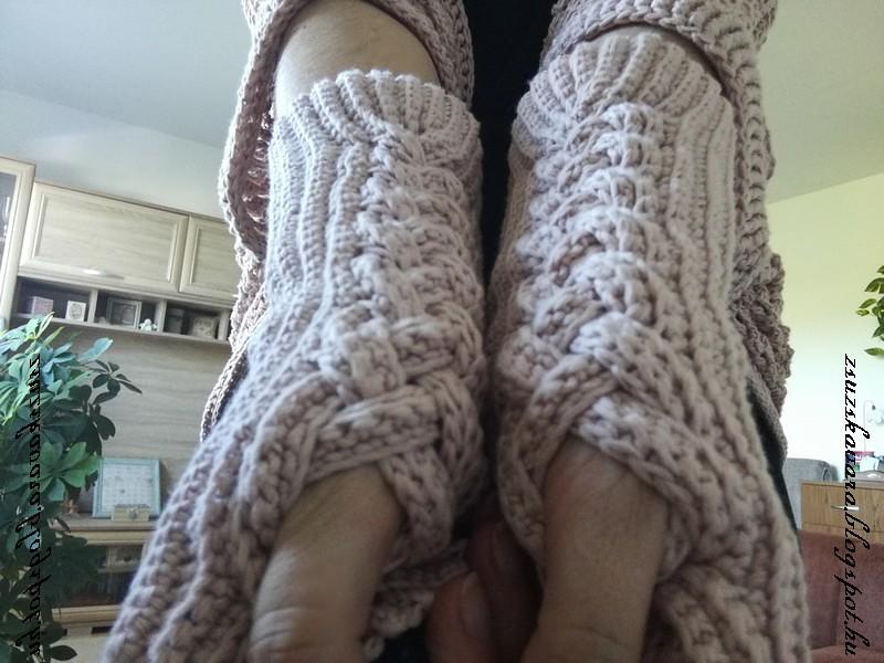 crochet, fingerless gloves