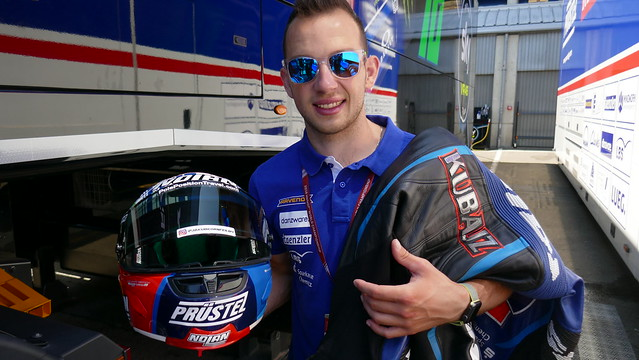 Jakub Kornfiel after qualifying