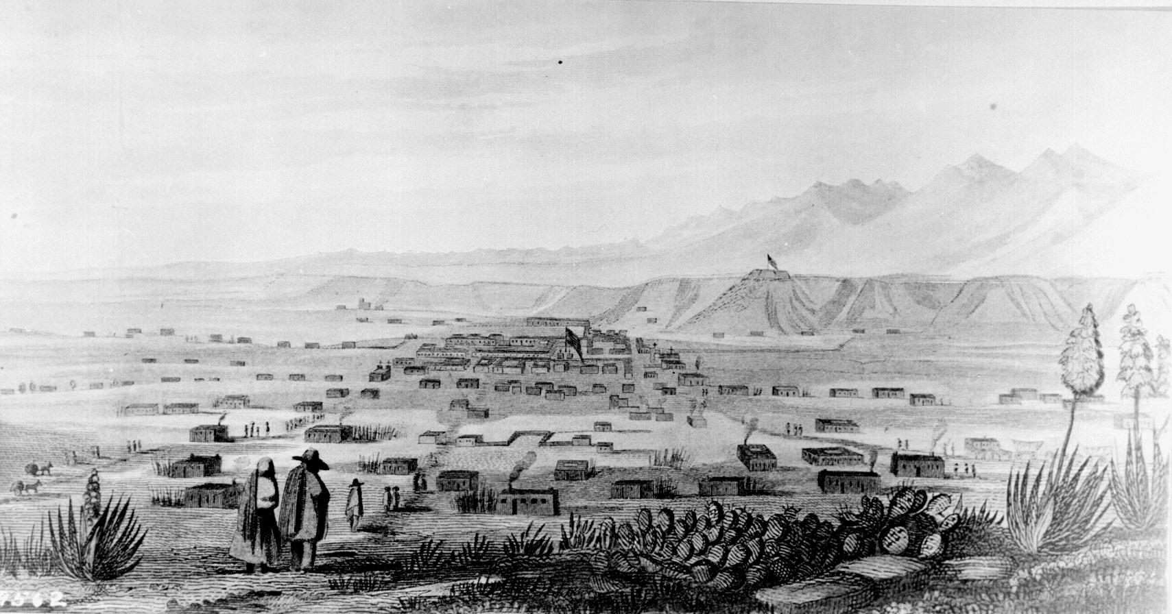 Santa Fe, New Mexico, circa 1846-1847