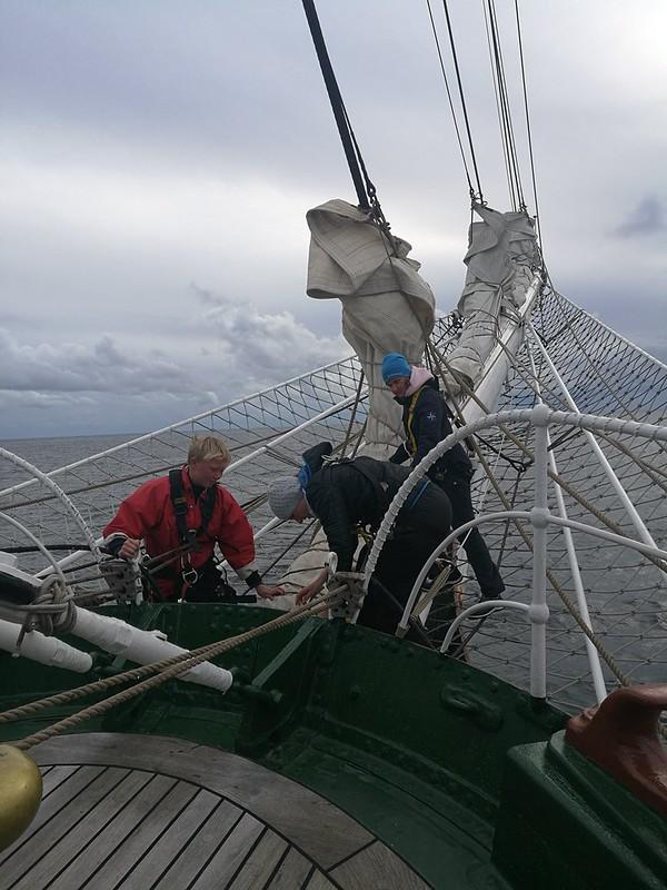 Bergen-Shetlannin saaret purjehdus