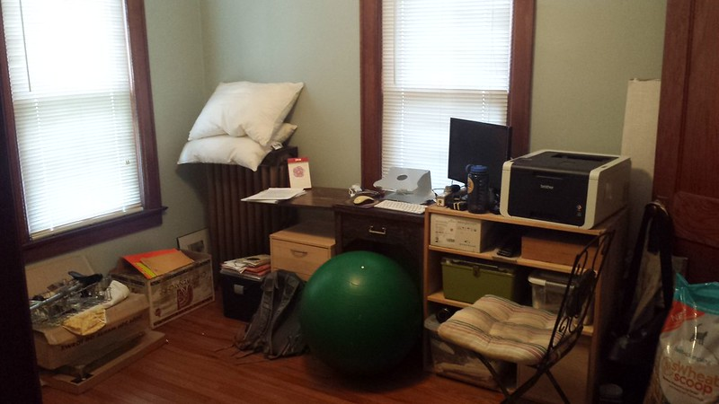 Back bedroom / my office