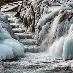 Competition: 18/09/2018 - PDI. League 1. Open. Frozen Waterfall Staircase by Rachel Dunsdon