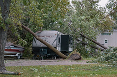 Storm Damage in Waterville, Minnesota