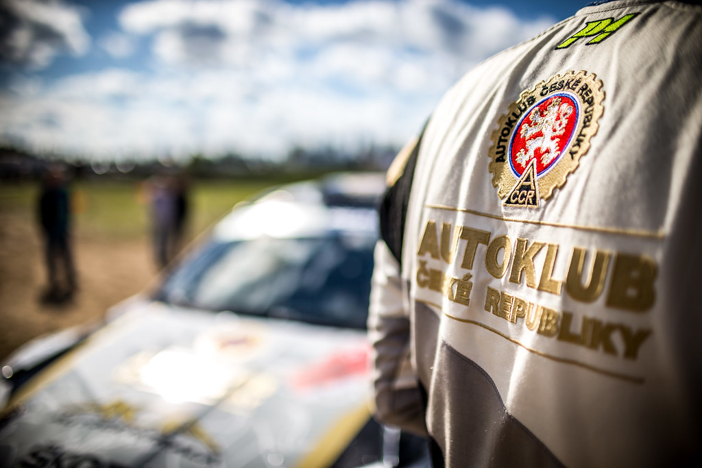 MARES Filip 5CZE), HLOUSEK Jan (CZE), ACCR CZECH RALLY TEAM, Skoda Fabia R5, portrait during the 2018 European Rally Championship Rally Poland at Mikolajki from September 21 to 23 - Photo Thomas Fenetre / DPPI