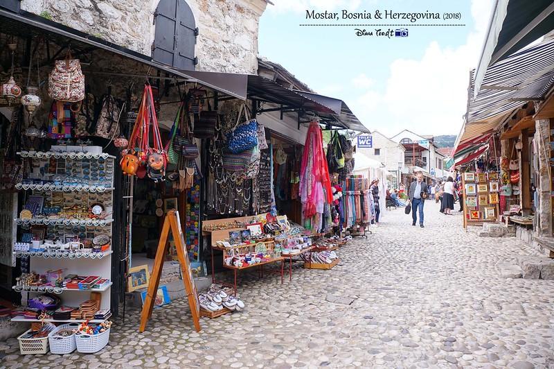 2018 Bosnia Mostar Old Town Bridge 1