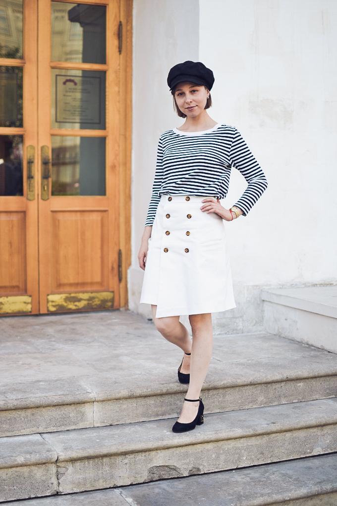 double button wrap skirt vikisews amelia юбка амели-7