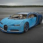 LEGO Bugatti Chiron lifesize LEGO Technic