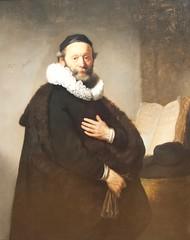 Portrait of Johannes Wlenbogeert -Rembrandt van Rijn
