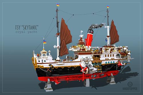 "Royal Yacht ""Skytanic"""