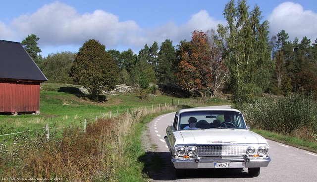 1963 Chevrolet Impala. Tonsberg, Fujifilm FinePix S100FS