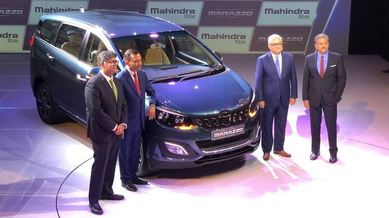 Mahindra Marazzo Launch