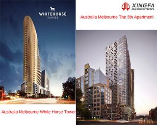 Xingfa aluminium profile project in Australia