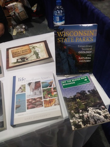 Wisconsin Historical Society publications featured in the Wisconsin state booth at the National Book Festival, 2018
