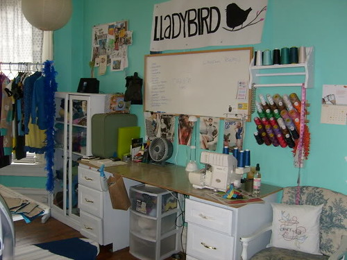 2009 sewing room - Broadway