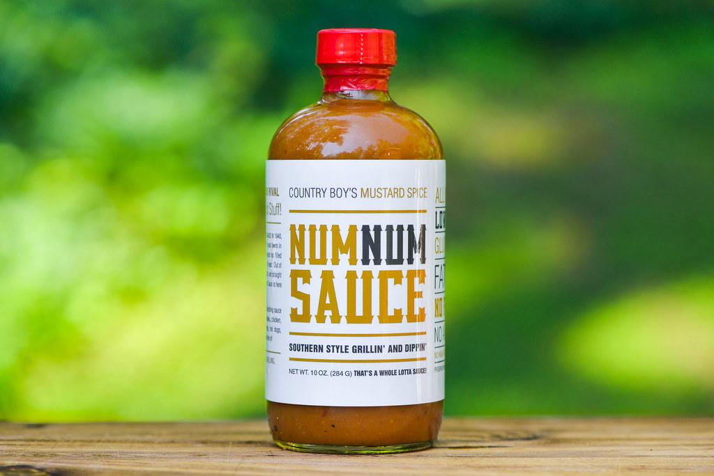 Country Boy's Mustard Spice Num Num Sauce