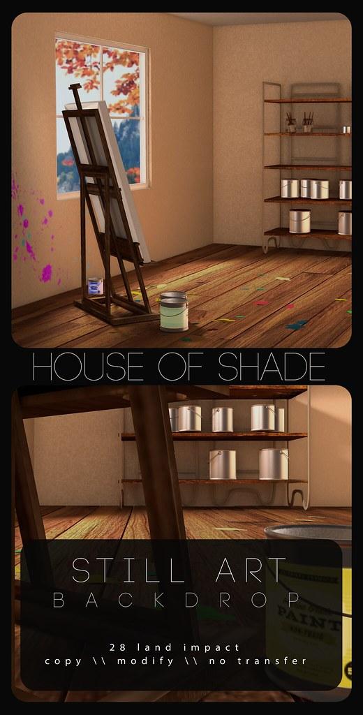House of Shade – Still Art Backdrop