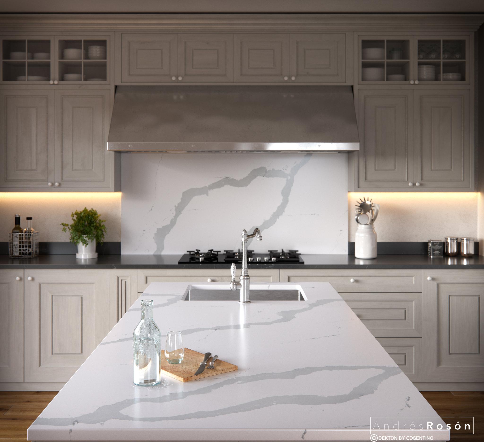 Bianco Calacatta Showroom