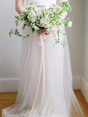 Wedding Bouquets : Organic wedding bouquet: Wedding Dresses: Alexandra Grecco - www.stylemepretty.....