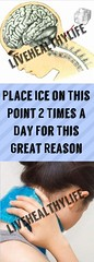 Place Ice on This Point 2 Times a Day For This Great Reason