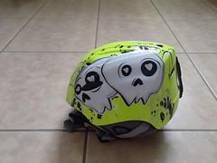 Dětská helma na sjezdovky - titulní fotka
