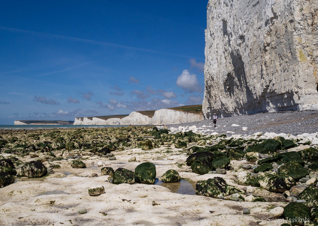 Places worth seeing in Southern England: Beachy Head and Birling Gap