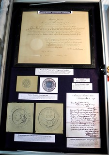 William and Charles Barber Exhibit case 1