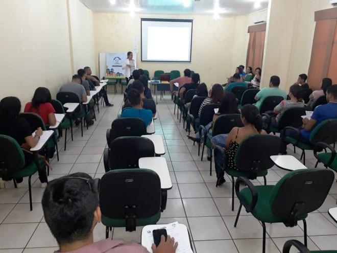 Coordenaria de Habitação realiza treinamento para  cadastro do