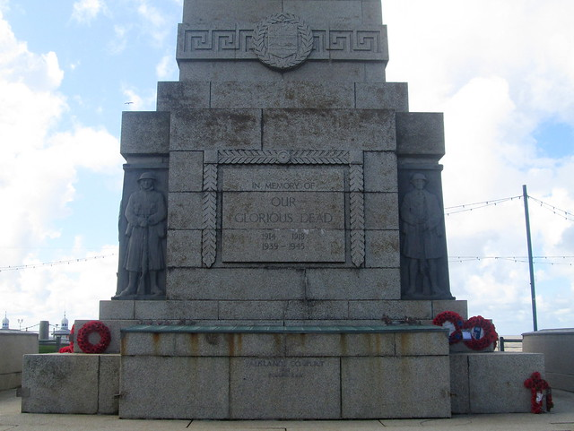 Blackpool War Memorial East Face