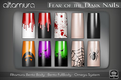 Altamura Fear of the Dark Nails @ The Episode Event - EP 1 Halloween