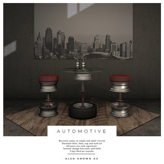also Known as - Automotive Bar collection | by ~ also Known as ~ (Second Life)