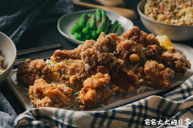 唐揚炸雞,宅宅太太的日常,料理食譜,日式炸雞,自製日式炸雞 @陳小可的吃喝玩樂