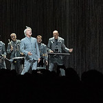 Sat, 15/09/2018 - 8:24am - David Byrne brings his American Utopia show to Forest Hills Stadium in Queens, NY. Live on WFUV. Hosted by Rita Houston and Carmel Holt. Photo by Gus Philippas/WFUV
