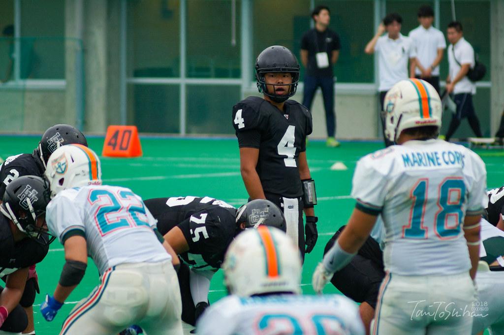 中四国学生アメリカンフットボールリーグ2018 広島大25ー7高知大
