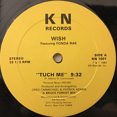 WISH:TUCH ME(LABEL SIDE-A)