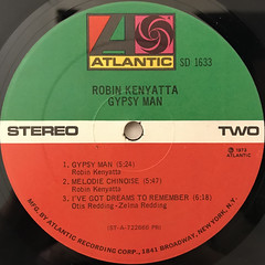 ROBIN KENYATTA:GYPSY MAN(LABEL SIDE-B)