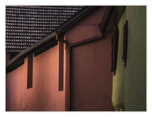 Architectural colors in Alsace