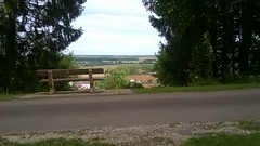 View to the route du Solleil