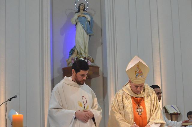 Nuevo párroco de Inmaculada Concepción (Burzaco)