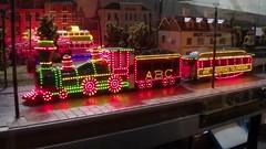 4mm scale model of Blackpool illuminated tram