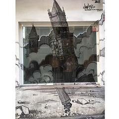 Dreamed cities #Madrid #Lavapies #streetart #street #streetphotography #sprayart #urban #urbanart #urbanwalls #wall #wallporn #graffitiigers #art #graffiti #instagraffiti #instagood #artwork #mural #graffitiporn #photooftheday #streetartistry #pasteup #in