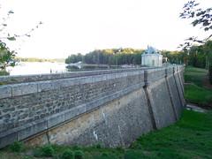 Lac des Settons - Barrage (aval)